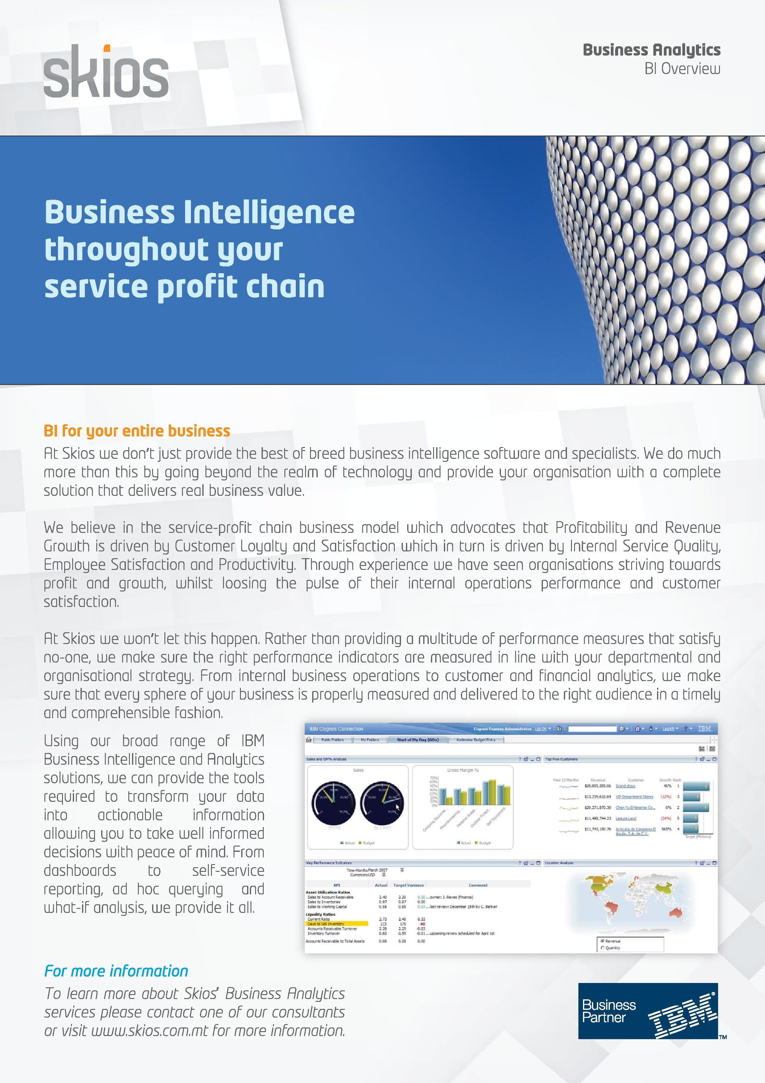 Business Intelligence Case Study